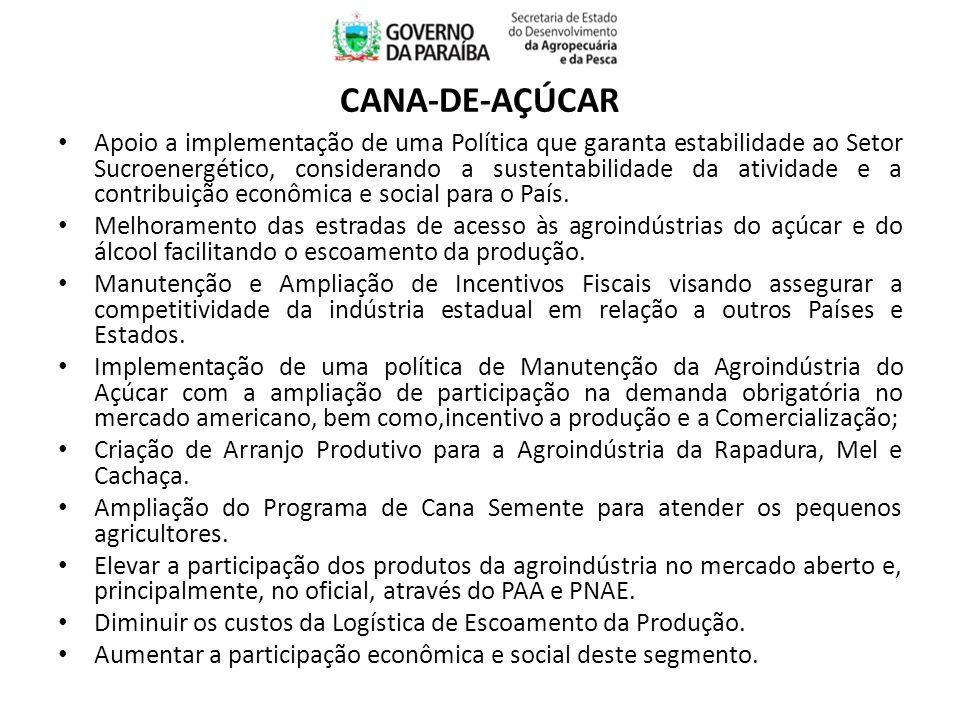 Apoio a implementação de uma Política que garanta estabilidade ao Setor Sucroenergético, considerando a sustentabilidade da atividade e a contribuição econômica e social para o País.