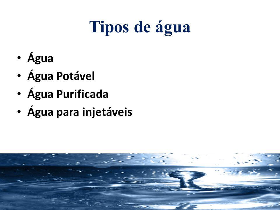 Água Potável Água para consumo humano cujos parâmetros microbiológicos, físicos, químicos e radioativos atendam ao padrão de potabilidade e não ofereçam risco à saúde.