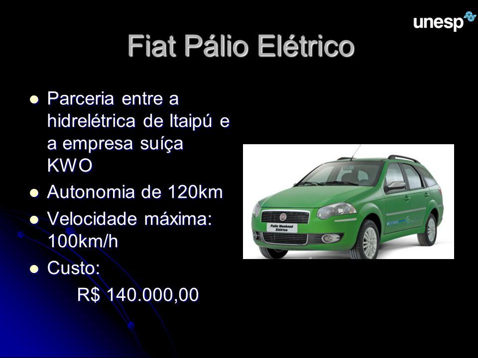 Fiat Pálio Elétrico Parceria entre a hidrelétrica de Itaipú e a empresa suíça KWO Parceria entre a hidrelétrica de Itaipú e a empresa suíça KWO Autono