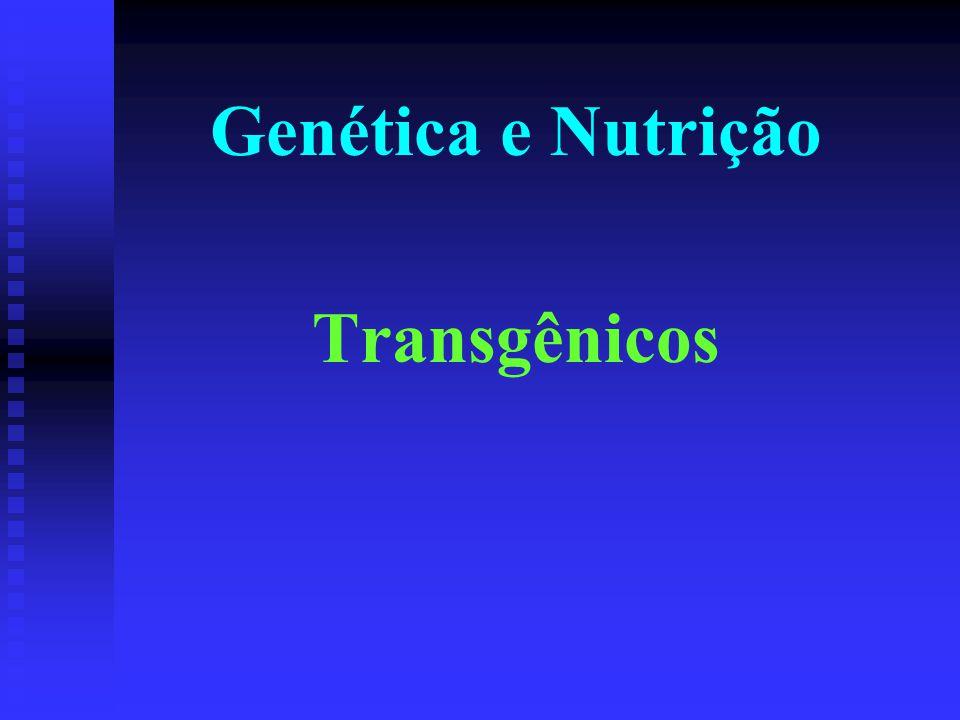 O que são AGM Alimentos geneticamente modificados Envolve a inserção de DNA de um organismo em outro, modificando o mesmo para uma finalidade específica + Um morango resistente ao frio = Peixe do ártico Morango