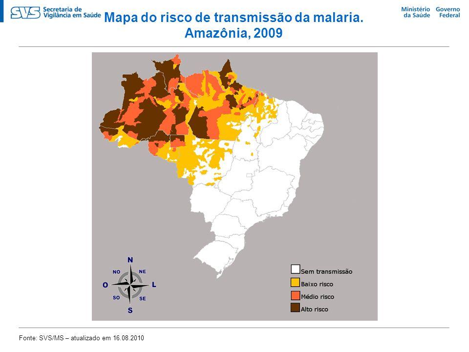 Objetivos do Programa Nacional de Controle da Malária   Reduzir a morbidade por malária   Reduzir internações por malária   Reduzir a mortalidade por malária