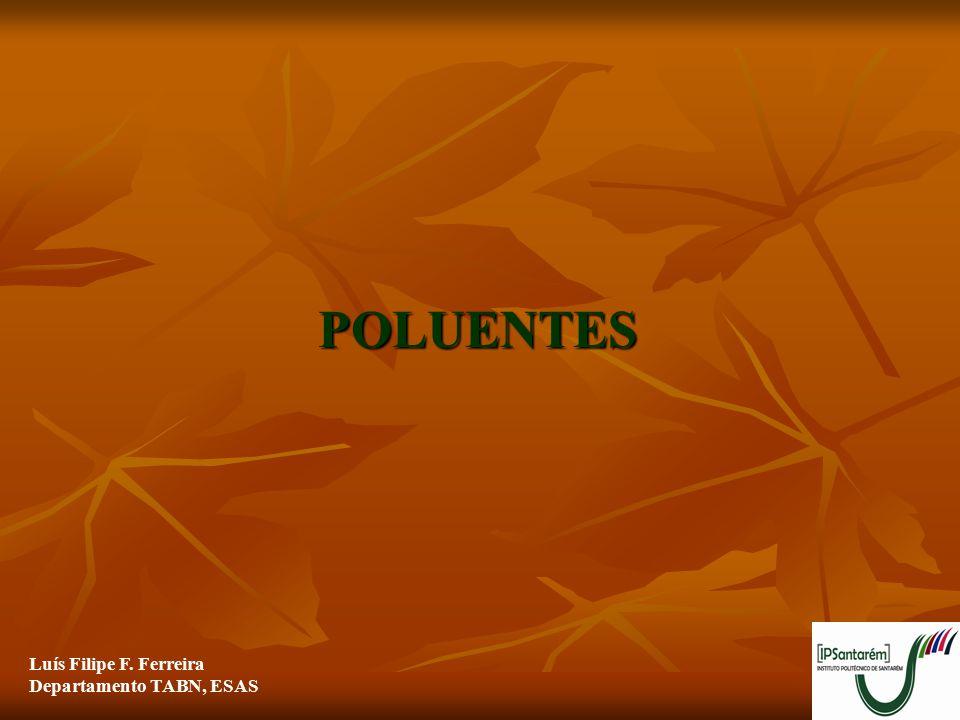 22 CLASSIFICAÇÃO DOS POLUENTES  ORGÂNICOS:  HIDROCARBONETOS  HIDROCARBONETOS AROMÁTICOS POLICÍCLICOS (PAH's) – POLUENTES ATMOSFÉRICOS E DA ÁGUA  Formam-se em consequência da combustão incompleta de materiais orgânicos (carvão, petróleo, árvores) e fumo do cigarro.