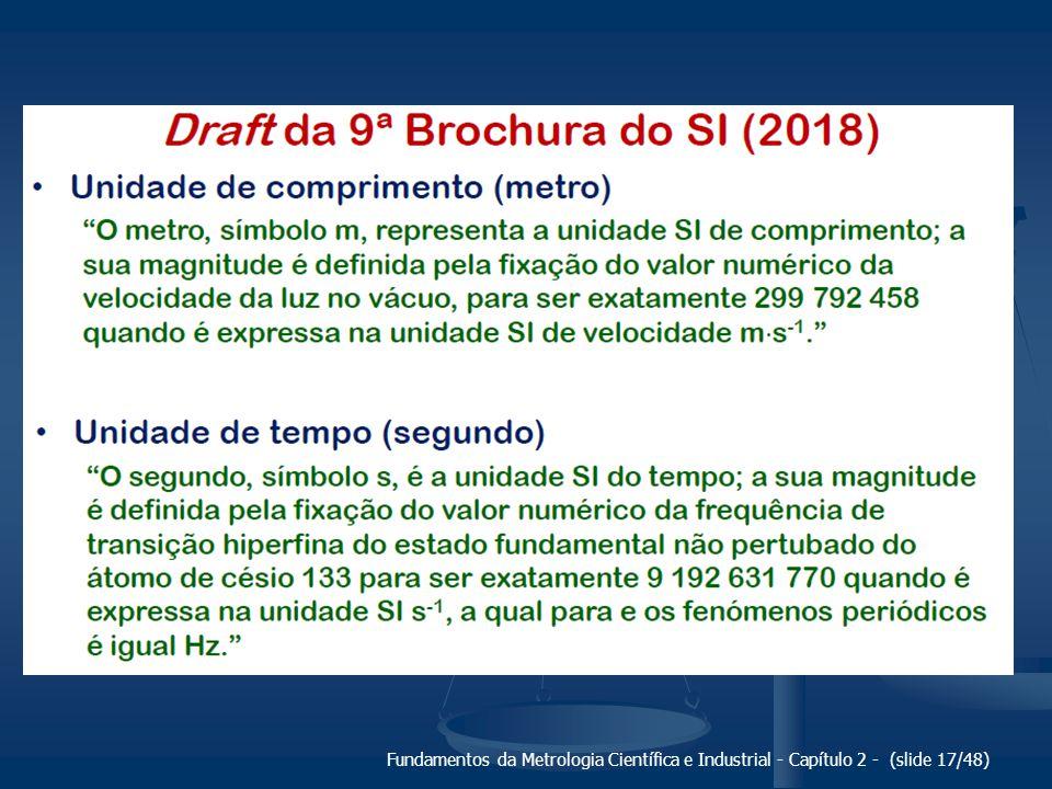 Fundamentos da Metrologia Científica e Industrial - Capítulo 2 - (slide 17/48)