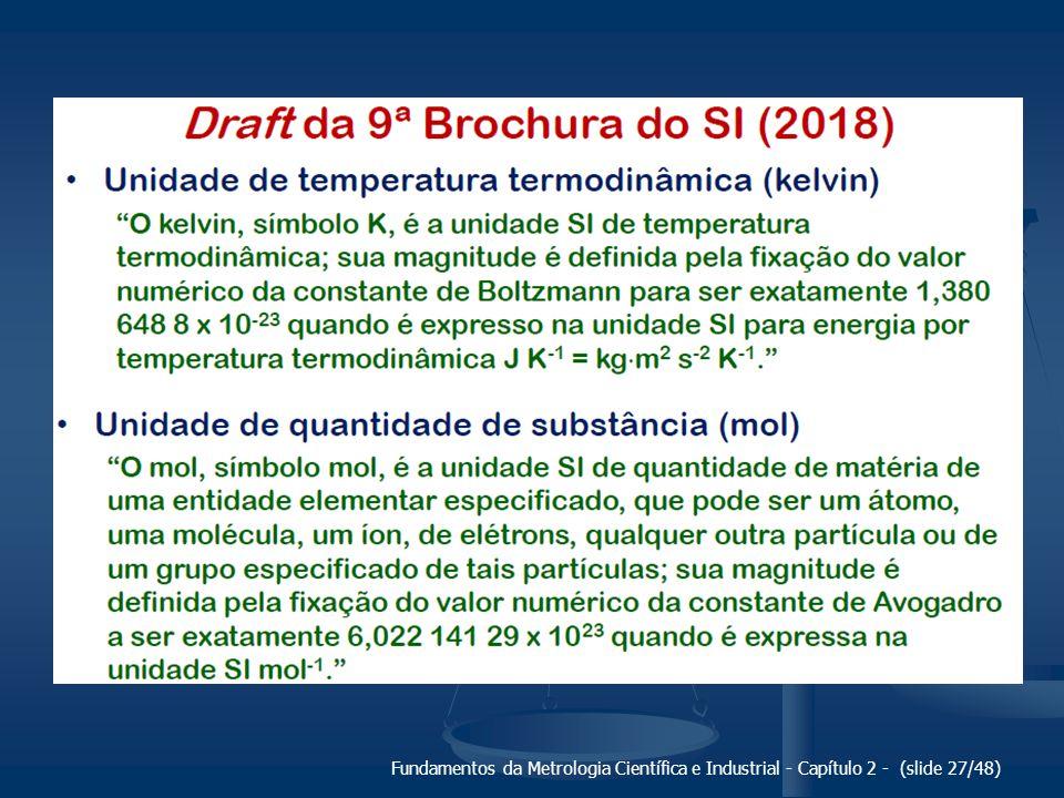 Fundamentos da Metrologia Científica e Industrial - Capítulo 2 - (slide 27/48)