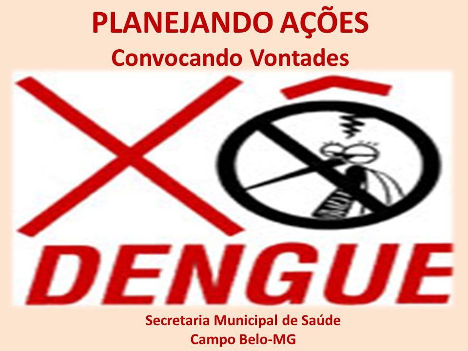 PLANEJANDO AÇÕES Convocando Vontades Secretaria Municipal de Saúde Campo Belo-MG