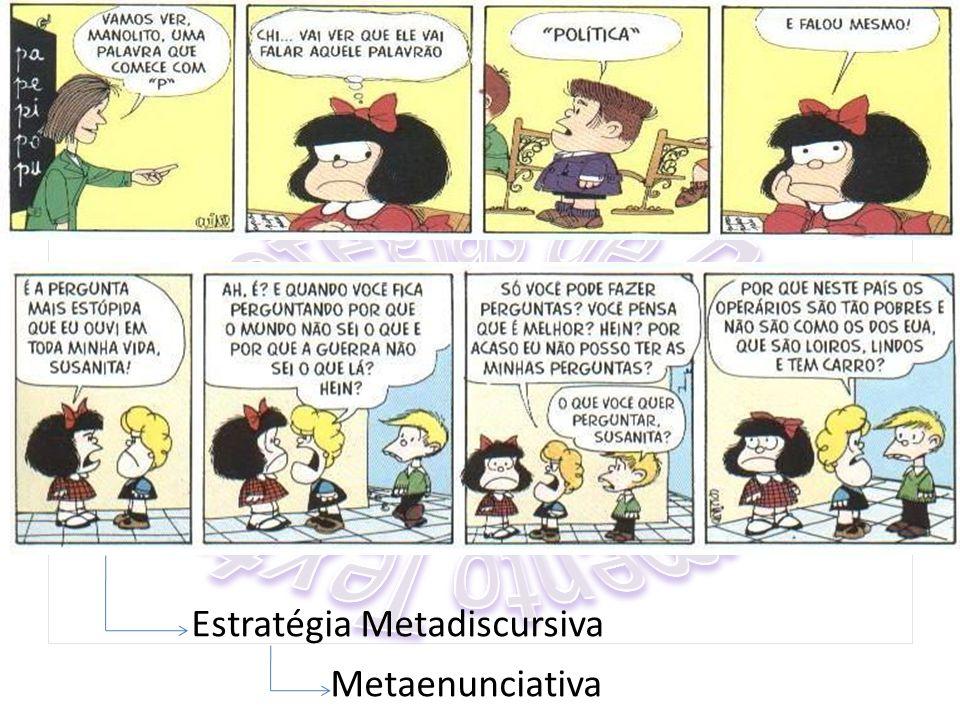 Estratégia Metadiscursiva Metaenunciativa