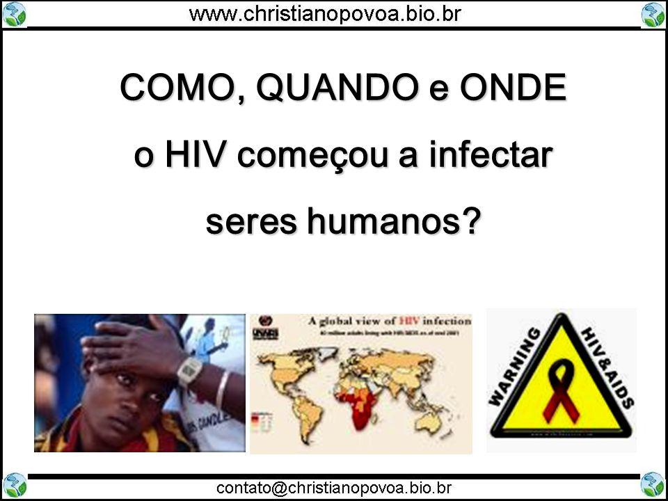 COMO, QUANDO e ONDE o HIV começou a infectar seres humanos?