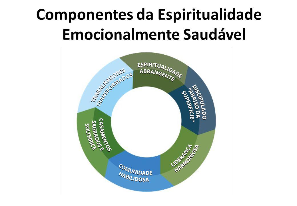 Componentes da Espiritualidade Emocionalmente Saudável