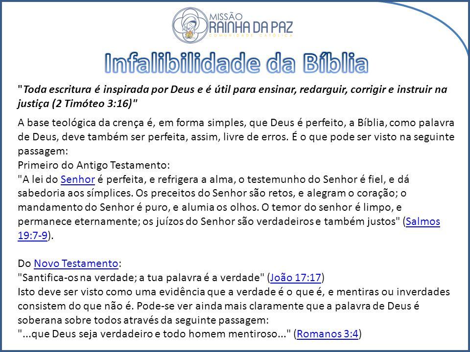 Livros do Evangelho: narram a vida, os ensinamentos, os milagres e a obras do Messias Jesus Cristo. Livro Histórico: apresenta a instituição e expansã