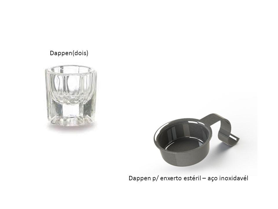 Pincel para acrílico nº 0 e 1 – Pêlo de marta Porta agulha Castroviejo c/ ponta de vídia 18cm