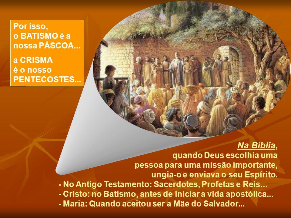 O nosso Pentecostes... Talvez invejemos a sorte dos Apóstolos. E nos esquecemos que o Pentecostes continua acontecendo. Também em nossa vida houve um