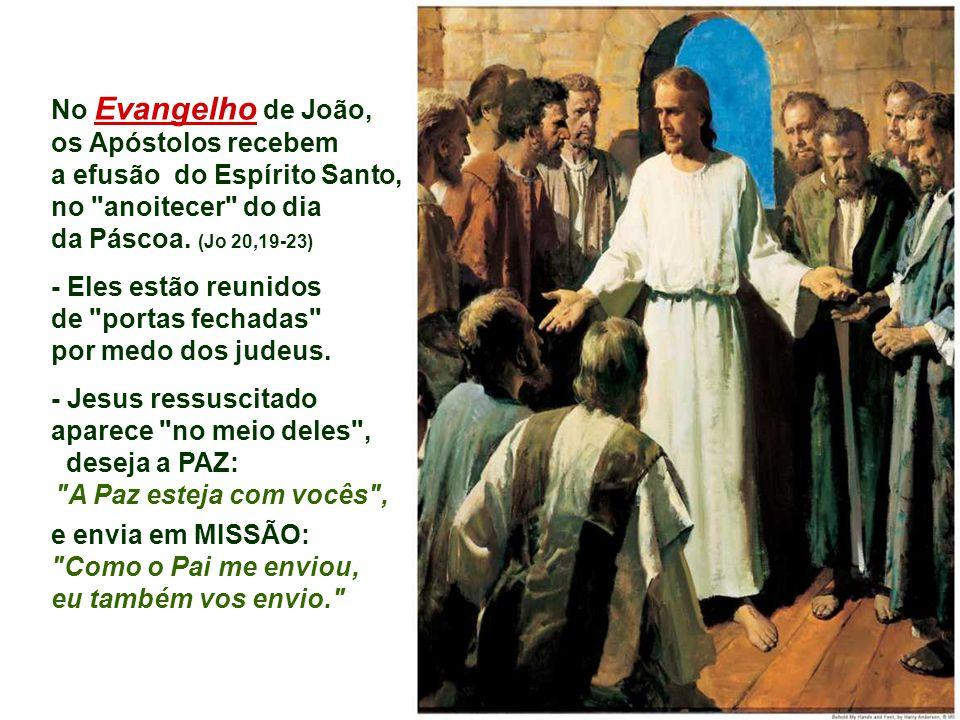 Na 2ª Leitura, Paulo afirma que o Espírito Santo é a fonte de onde brota a vida da comunidade cristã.