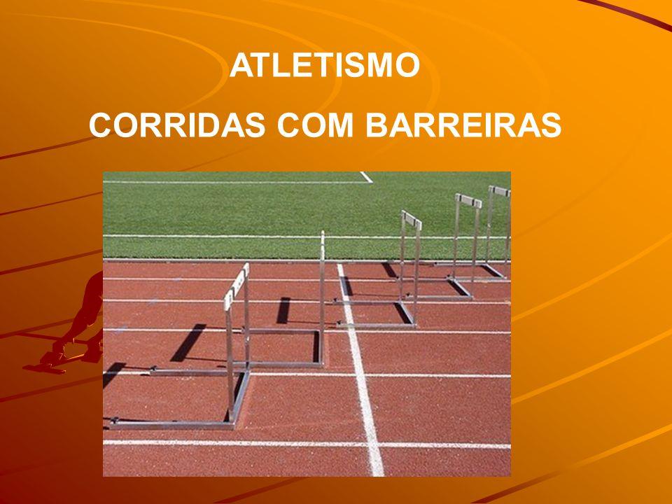 ATLETISMO CORRIDAS COM BARREIRAS