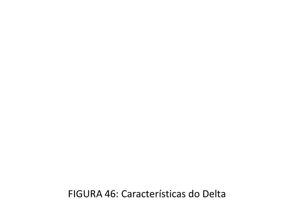 FIGURA 46: Características do Delta