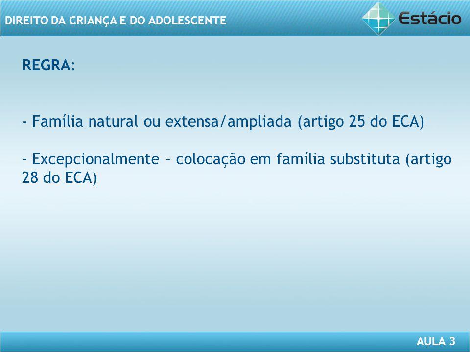 Familia Natural Eca Família Natural ou Extensa