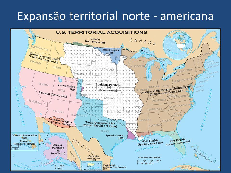 Expansão territorial norte - americana