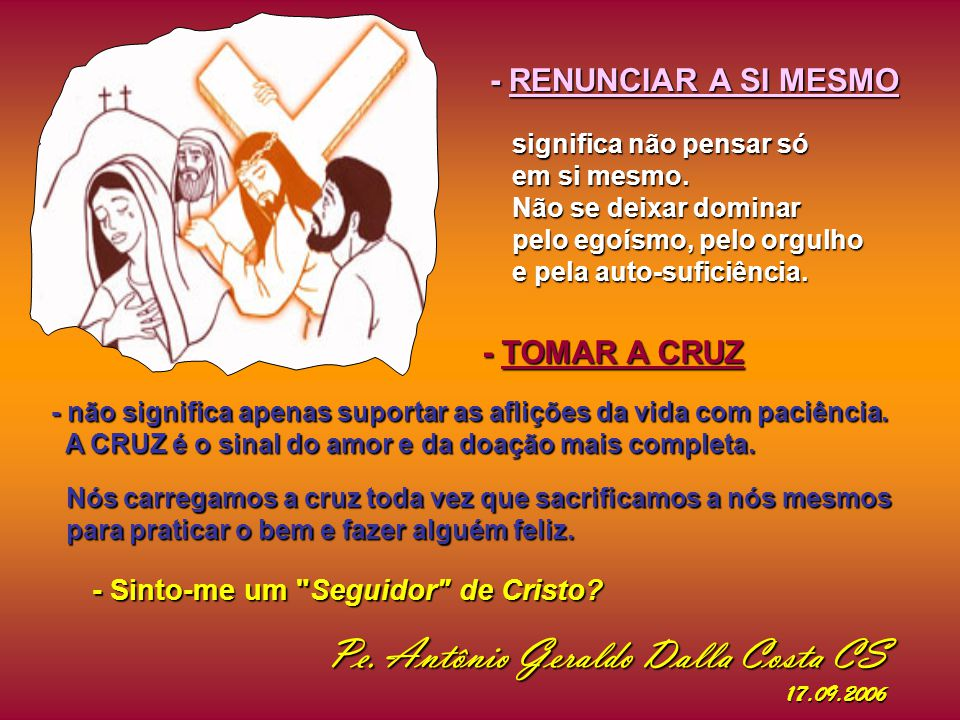 Quem são os verdadeiros discípulos de Jesus.
