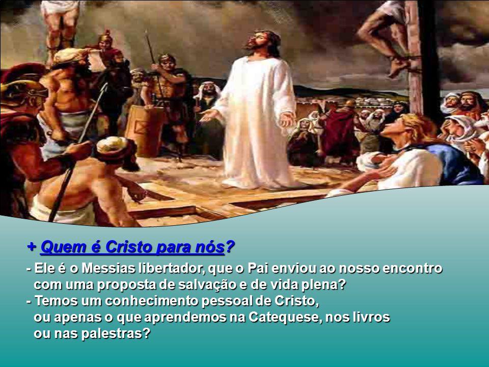 QUEM É JESUS.+ O que os homens dizem.