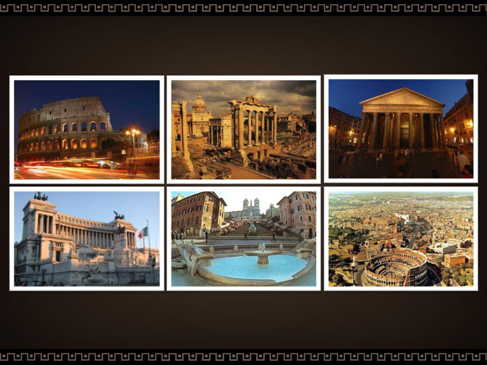 Introdução Fundada em 753 a.C., Roma era a capital e a sede do império romano.