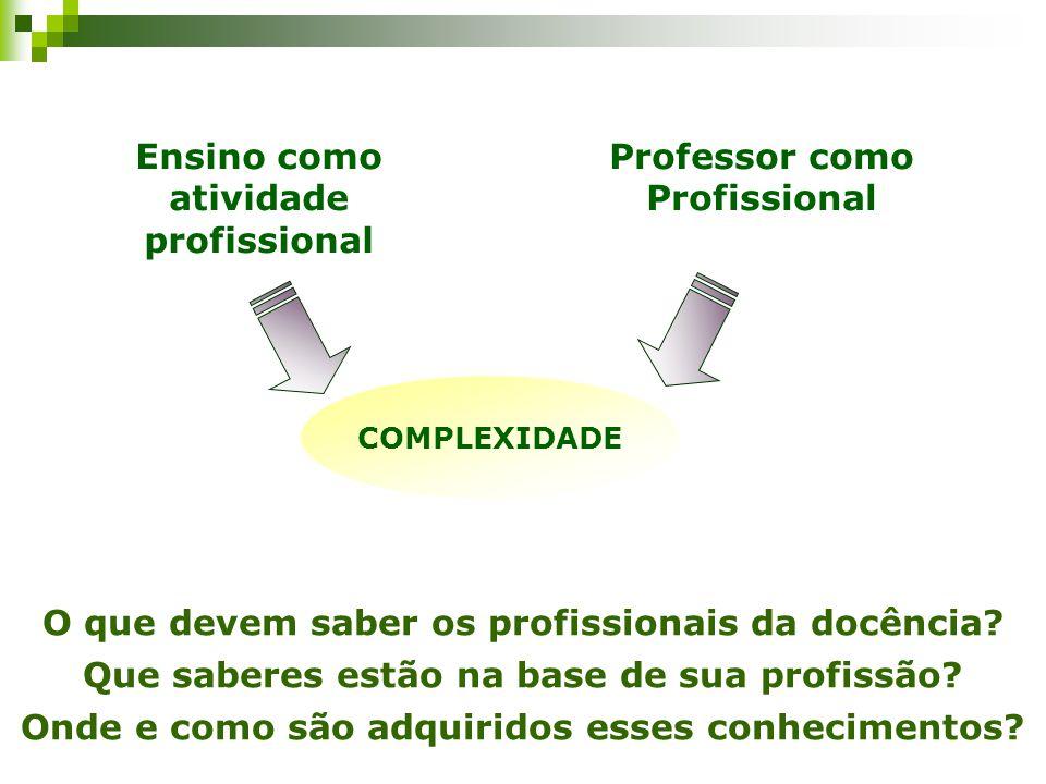 Aspectos a considerar para a docência na educação básica \/ Aspectos a considerar na formação inicial de professores