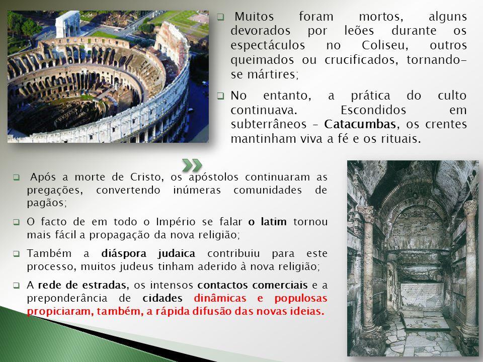Coliseu de Roma – capacidade para 45 mil pessoas