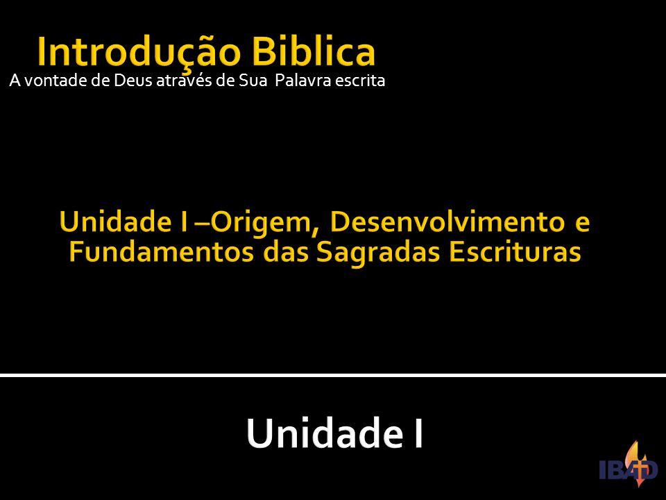 IBAD – PINDAMONHANGABA/SP  As origens das sagradas escrituras devem ser procuradas nas antigas tradições judaico- cristãs bem como na compilação dos antigos manuscritos tanto judaicos como cristãos e suas difernças.