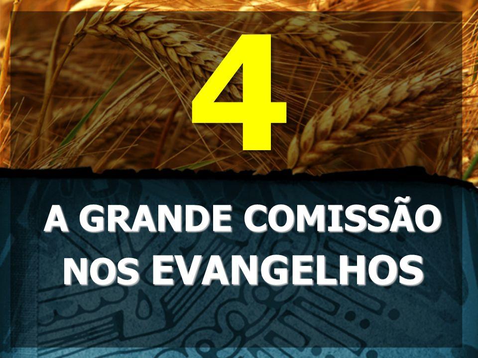 A GRANDE COMISSÃO NOS EVANGELHOS 4