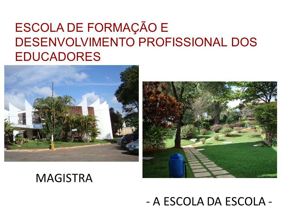 ESCOLA DE FORMAÇÃO E DESENVOLVIMENTO PROFISSIONAL DOS EDUCADORES MAGISTRA - A ESCOLA DA ESCOLA -