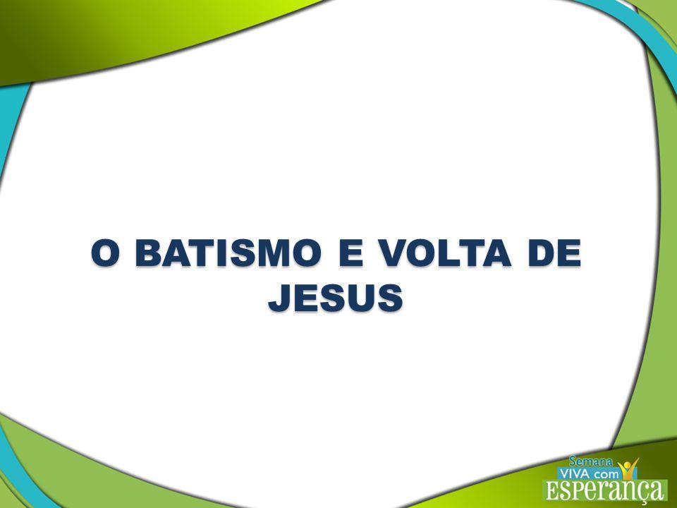 O batismo é uma ordenança de purificação ou limpeza.