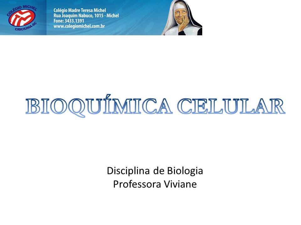 Disciplina de Biologia Professora Viviane