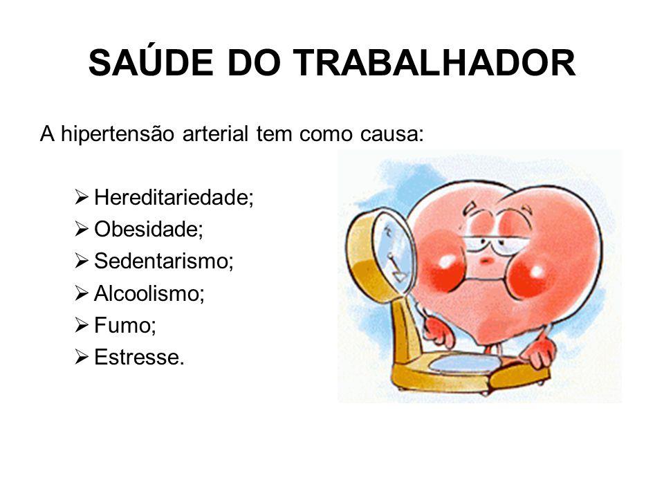 SAÚDE DO TRABALHADOR  O coração é uma bomba eficiente que bate de 60 a 80 vezes por minuto durante toda a nossa vida e impulsiona de 5 a 6 litros de sangue por minuto para todo o corpo.