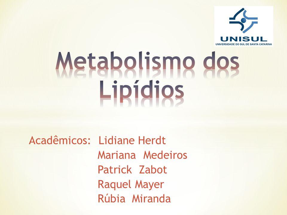 Lipídeos Lipídeos São biomoléculas insolúveis em água, e solúveis em solventes orgânicos e que, por hidrólise, fornecem ácidos graxos e glicerol.