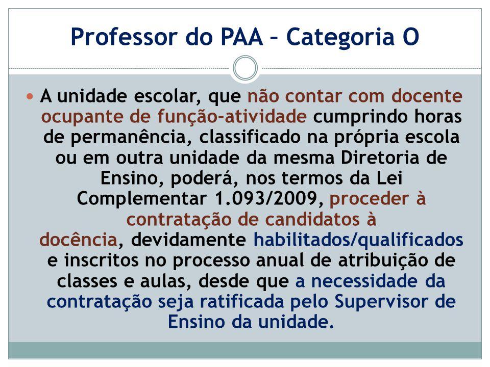 Professor do P.A.A.
