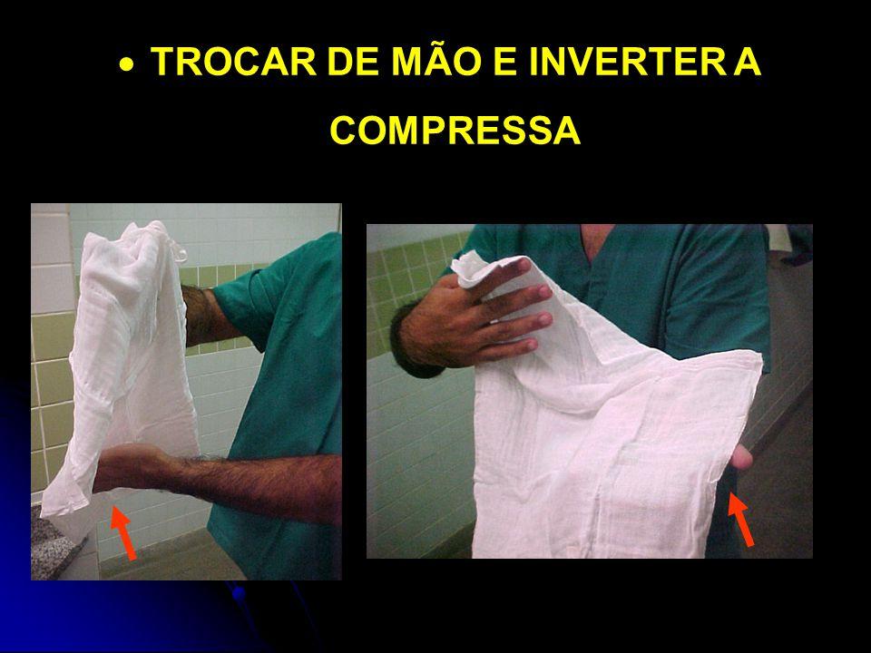  TROCAR DE MÃO E INVERTER A COMPRESSA