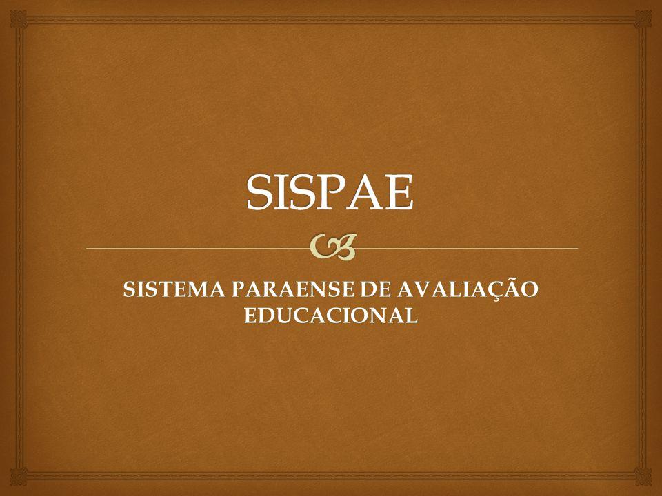 SISTEMA PARAENSE DE AVALIAÇÃO EDUCACIONAL
