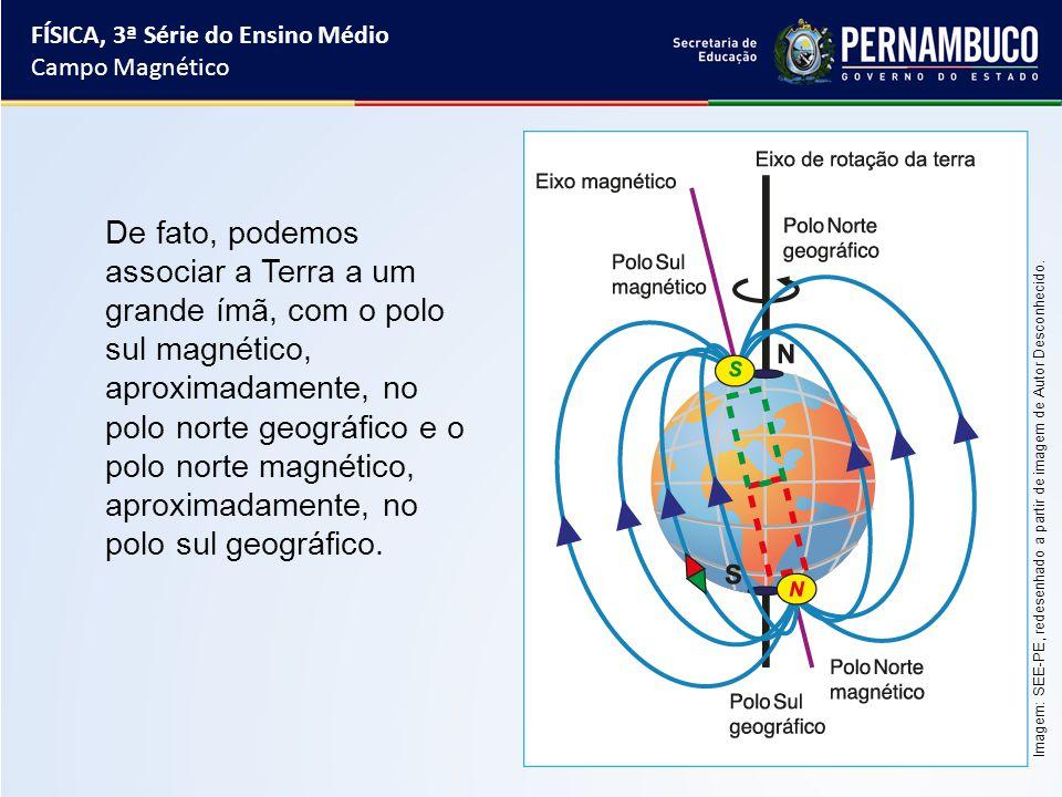 O polo norte do ímã é atraído pelo polo magnético sul da Terra ad6b44ef9d8a