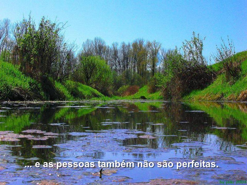 A vida é cheia de imperfeições...