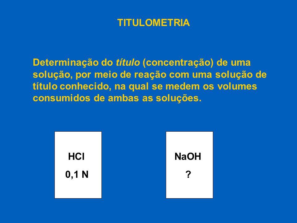 HCl 0,1 N NaOH V HCl V NaOH
