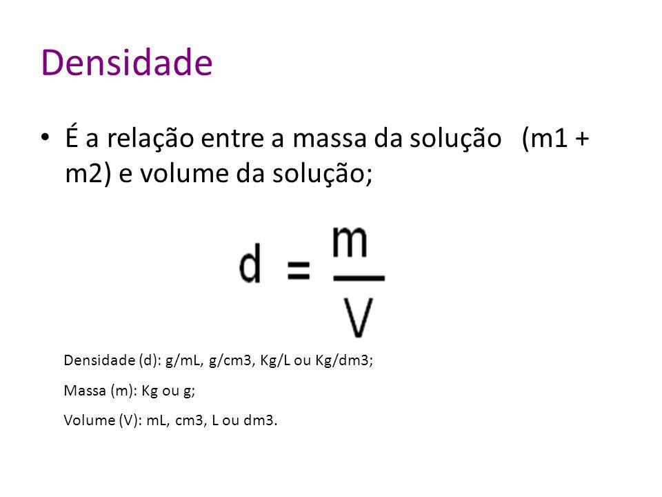 Colocando os dados na fórmula: Massa do soluto (m1) = 80g (NaOH) Volume da solução (V) = 1,0 L Sendo: Rótulo para este produto
