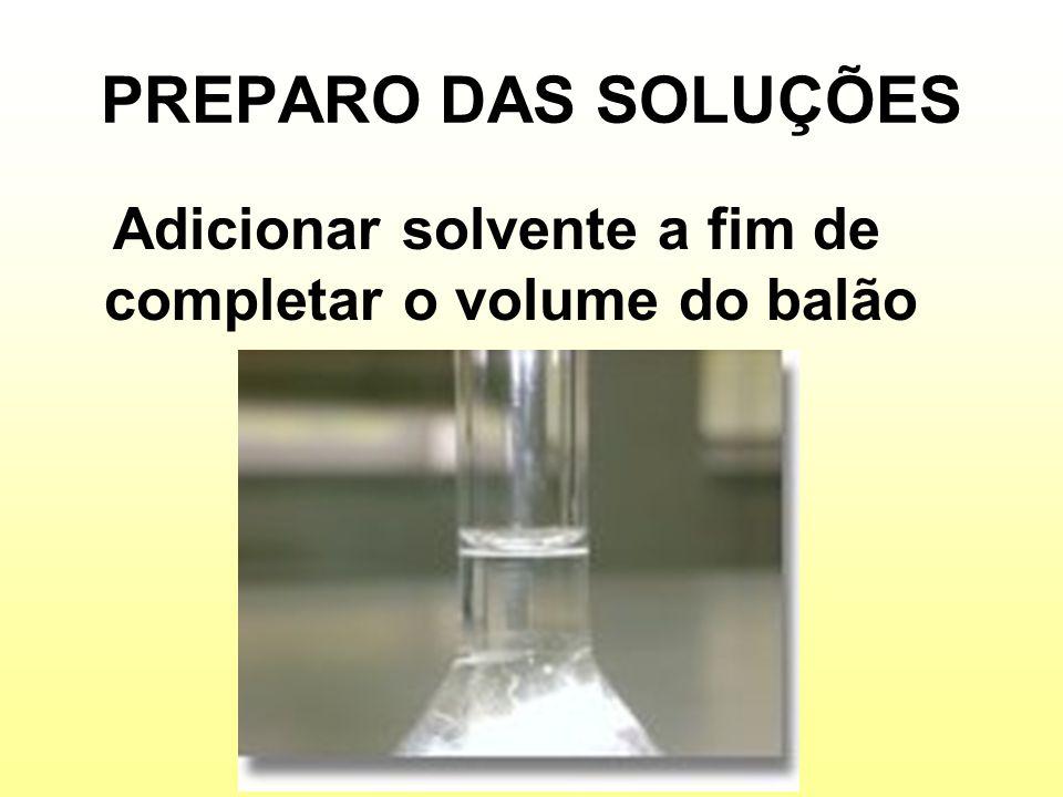 CONCENTRAÇÃO DAS SOLUÇÕES Concentração de uma solução é a maneira de expressar a proporção existente entre a quantidade de soluto e de solvente (ou solução).