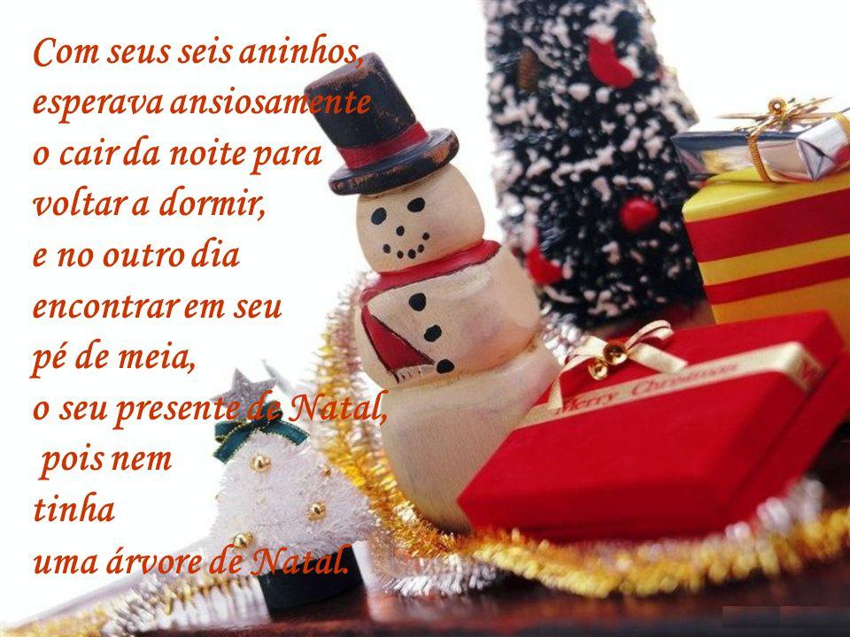Um dia, Gabriel acordou, muito contente, era a véspera de Natal, pois para ele era uma data muito importante! Era o dia do Aniversário do Menino Jesus