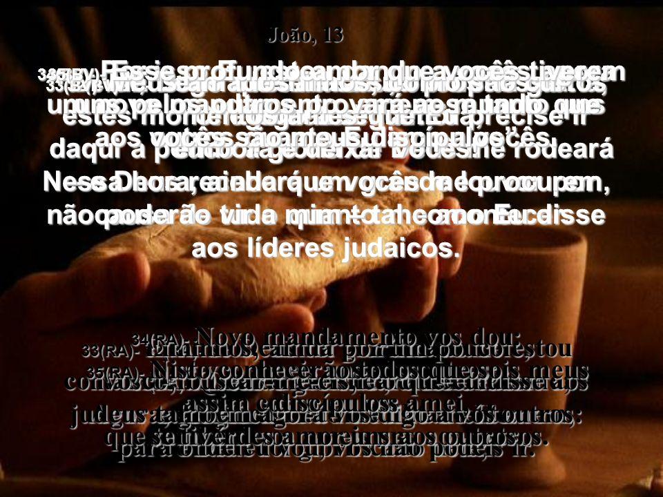 27(BV)- Logo que Judas o comeu, Satanás entrou nele.