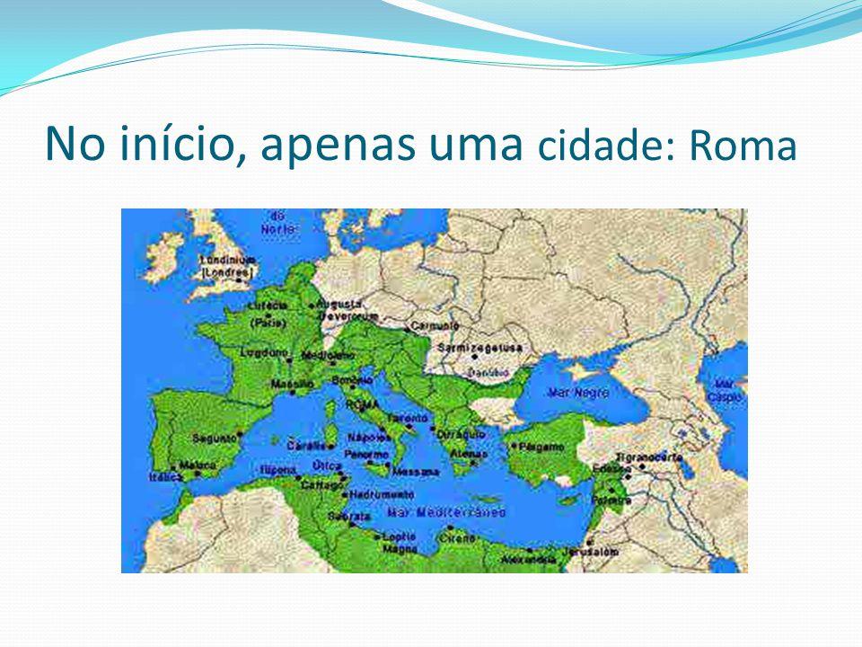 Períodos da história romana: Monarquia – 753 a.C.