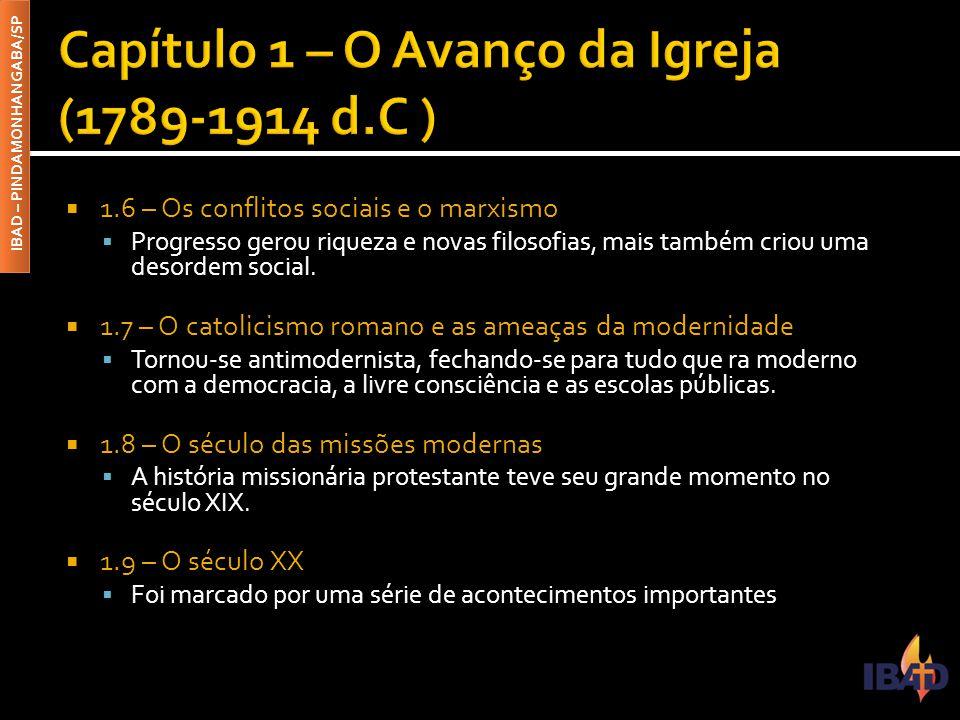 IBAD – PINDAMONHANGABA/SP  Estudaremos as tentativas de trazer para o Brasil a teologia Reformada.