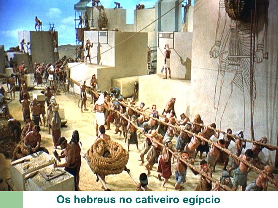 Os hebreus no cativeiro egípcio