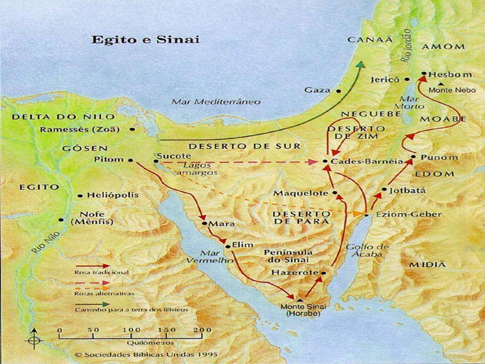  Patriarcado: Ergue os olhos e olha desde onde estás para o norte, para o sul, para o oriente e para o ocidente, porque toda essa terra que vês, eu ta darei, a ti e à tua descendência, para sempre. (Gênesis 13.14-15)  Abraão – condução dos hebreus para Canaã (Monoteísmo – Iavé,YHWH);  Isaac e Jacó – 12 descendentes (12 tribos);  Migração para o Egito (posterior escravização);  O Cativeiro Egípcio.
