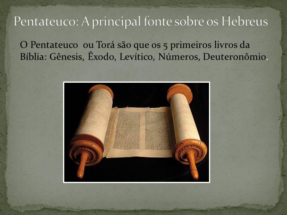 Os hebreus eram inicialmente, um pequeno grupo de pastores nômades, organizados em clãs ou tribos, chefiadas por um patriarca.
