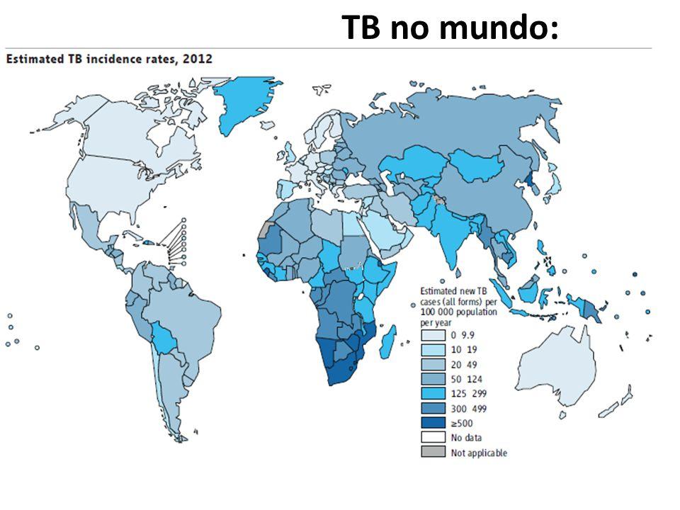 Resultado de imagem para tuberculose situação no mundo
