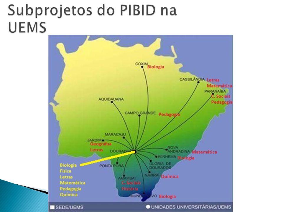 Bartolina Ramalho Catanante bartolina@uems.br Pibid UEMS