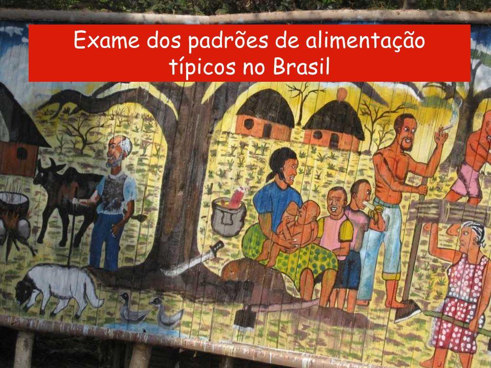 Nutrição em diabetes Curriculum Module III-5 Slide 4 of 59 Atividade Exame dos padrões de alimentação típicos no Brasil